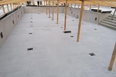 Бассейн 250 м2. Шлифовка бетона