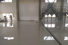 Очистные сооружения 600 м2. Эпоксидное покрытие 3 мм